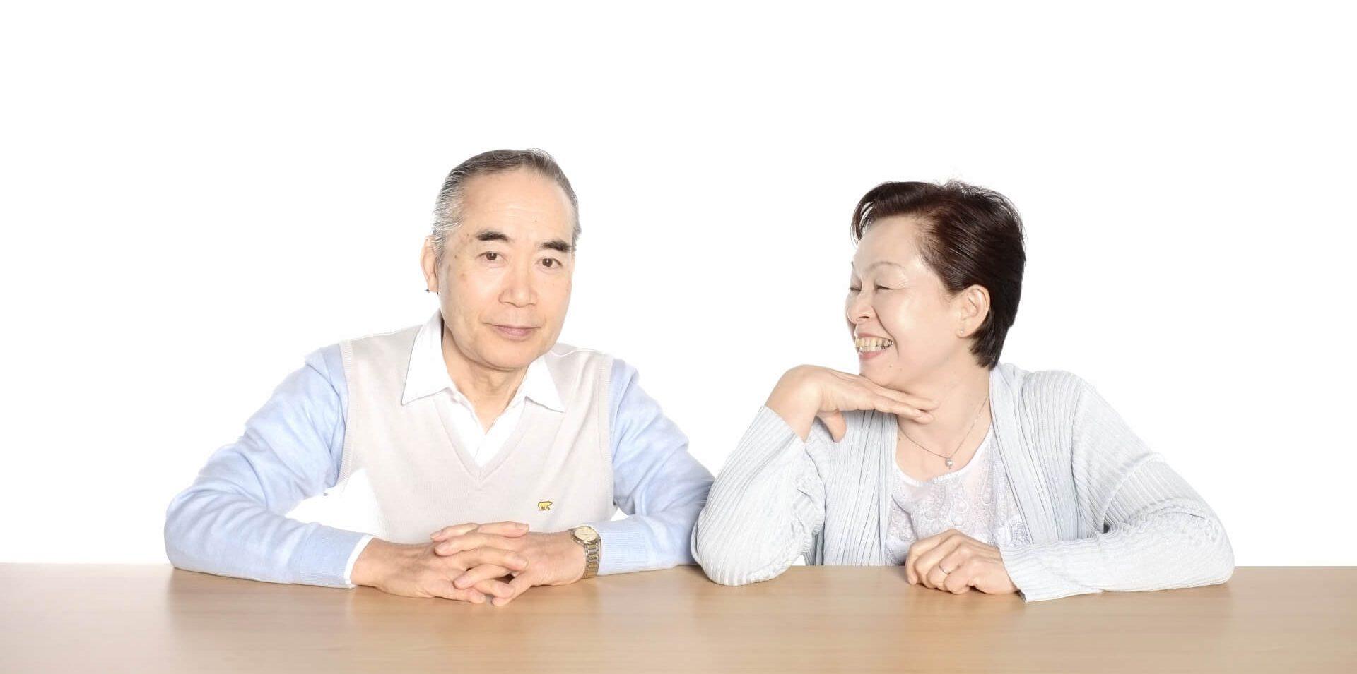 高齢者 夫婦 写真